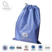 OEM Hotel Cloth Laundry Bag/Hotel Drawstring Laundry Bag/White Wholesale Mesh Laundry Bag