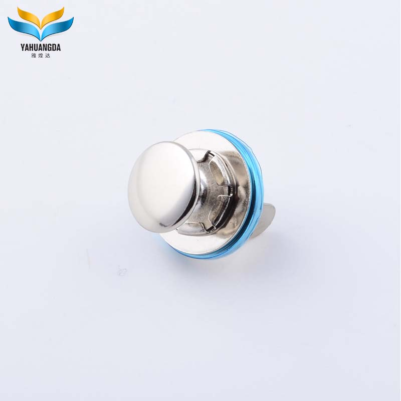 2017 new product wholesale metal hidden magnetic snap button for handbag