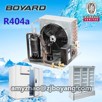 R404a rotary refrigeration compressor 3hp condensing unit for industrial oil cooling unit