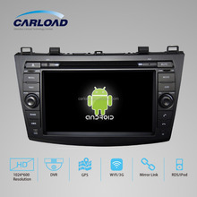 Android 2 din car dvd with gps for 8 inch Mazda 3 2012