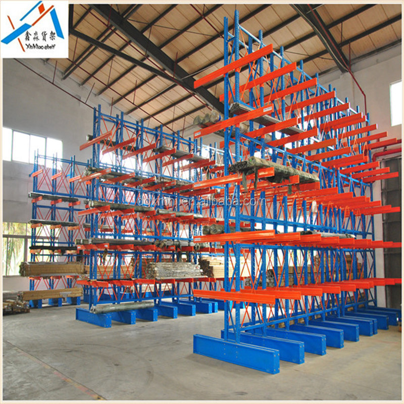 China hit product forklift/manual hydraulic trolley accessible safety equipment cantilever arm rack