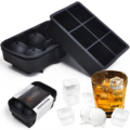 Renjia whiskey ice ball silicone ice tray molds for ice cream stick