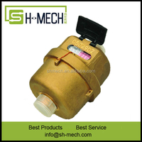 class c liquid sealed flow sensor in rotary piston water meter system