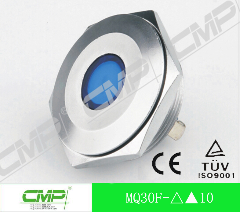 Manufacturer Export Led Signal Lamp ,Stainless Steel Anti-vandal Waterproof Indicator Light Pilot Lamp with CE and TUV