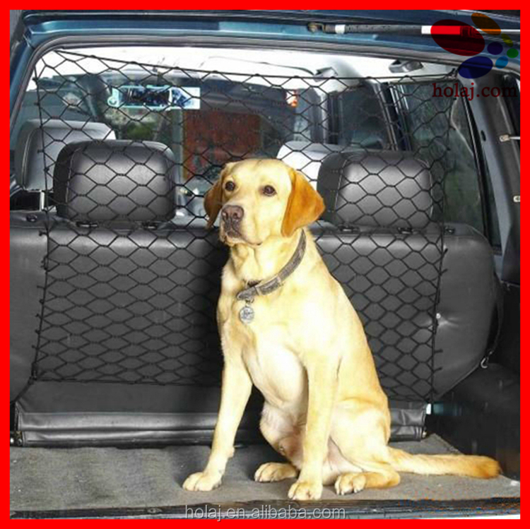 2017 Dog Car Pet Fence Adjustable Easy Install Barrier Isolation Net Safety Pet protection Pet Travel