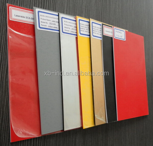 ABS plastic sheet 1.5mm thick/glod and black abs sheet/hard plastic sheet