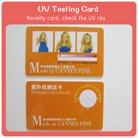 China factory directly supply Sun meter UV indicator in PVC card style