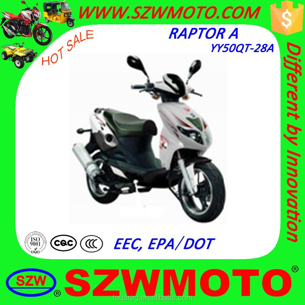 HOT SALE brand-new design RAPTOR A YY50QT-28A YY125T-28A YY150T-28A scooter motorcycle