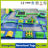 NEVERLAND TOYS Giant Inflatable Water Park Inflatable Aqua Park Floating Water Park for Adults Hot Sale