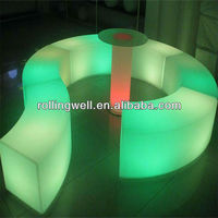 HUAJUN Led bar furniture/led home bar design/flashing led bar counter