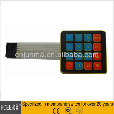 Hot selling Comfortable LED Touch Button Membrane in alibaba