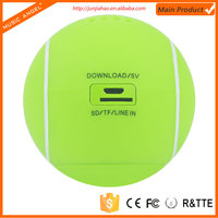 TF Card Music Playing Tennis Ball Shaped mini bluetooth speaker