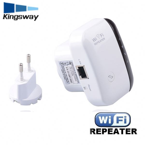 Fashionable 300Mbps Wireless N 2.4 GHz WiFi Repeater