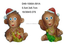 Funny 2016 year monkey small figurine