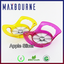 Hot selling Premium kitchenware tools colorful stainless steel Apple core cutter Apple slicer
