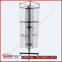 4 ways metal wire accessory rack shelves metal hook display stands hook display