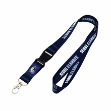 Personalized Logo Cheap Neck Printed Custom Polyester Lanyards With ID Card Holder Lanyard