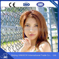 High Quality Garden Chain Link Fence Plastic Rhombic Wire Mesh