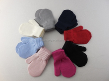 winter fashion knitted mitten 100% Merino wool