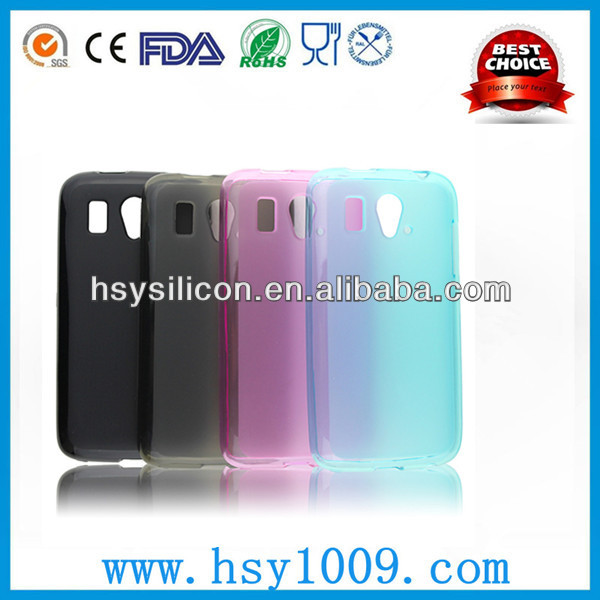 cheap tpu clean case for zte mobile zte blade 2 case