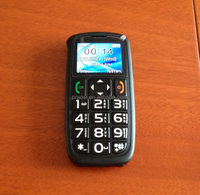 high quality cheap big speaker big numbers /keyboard mobile phones with sos button for elderly