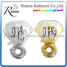 REIANS Customized 73cm inflatable i do marry diamond Ring shaped propose balloons party Valentine's Day wedding(accept OEM ODM)
