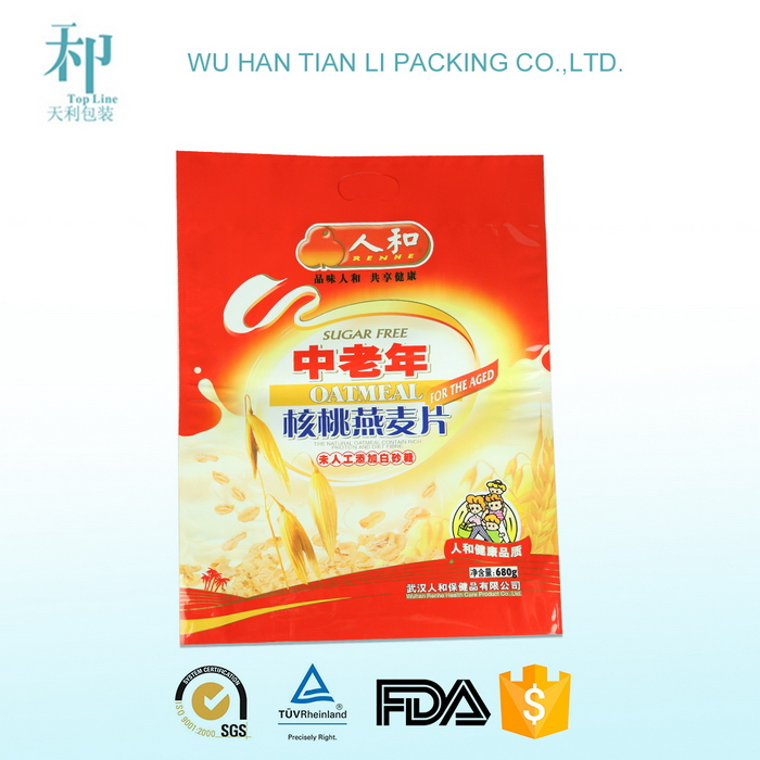 alibaba china OEM factory CMYK calendar printing packet for milk