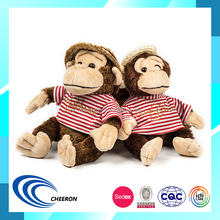 Good Service Christmas Gift Plush Monkey Stuffed Plush Toys