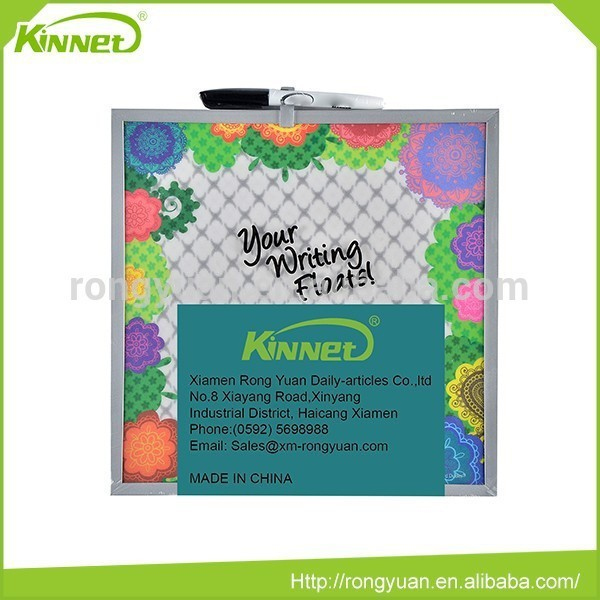 High quality printed paper writing portable magnet memo board