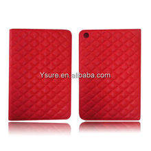 Red elegant Leather Case for ipadmini