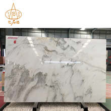 Landscape Painting White Onyx Dining Table Marble Floor Tiles With Good Price