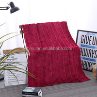 Home Textiles Blanket Soft Flannel Polyester