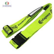 Wholesale customized polyester printed named tags luggage straps