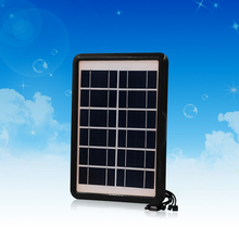 New products buy import Grade A high efficiency solar panel cells 5in1 phone charger 6V6W mini solar power panels