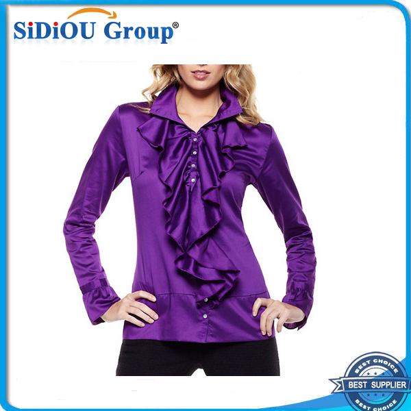 2014 office uniform designs for women blouse and pants