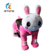 Rabbit kiddie ride coin operated kiddy rider kiddie rides fiberglass toys for sale