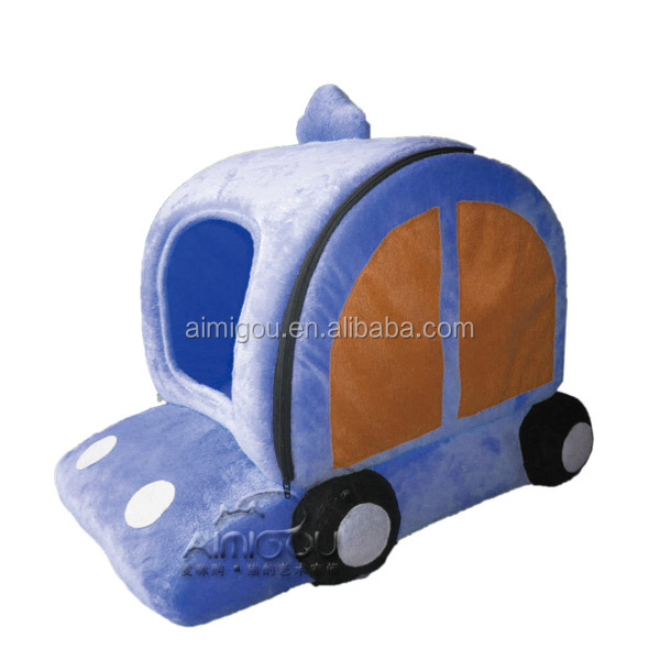 15 Years factory high quality car shaped pet home bed/cusion