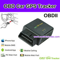 real time OBD gps tracker with PC tracking software and mobile phone app
