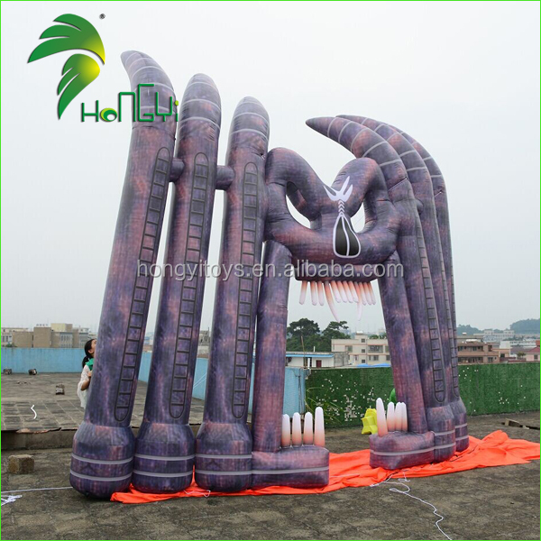 Inflatable Hallowmas Party Arch / Inflatable Hallowmas decoration Arch / Halloween Ghost Arch Inflatable