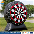 Best selling giant sport inflatable football shooting darts for sale
