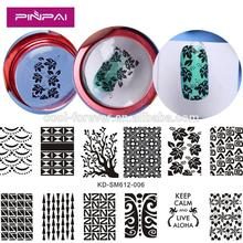 Design Set maincure Polish Manicure transparent printing template