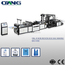 Made in China Low energy consumption non woven box bag making machine price
