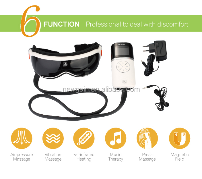 Multifunction Electric massage glasses. music body massager. professional Eye Massager