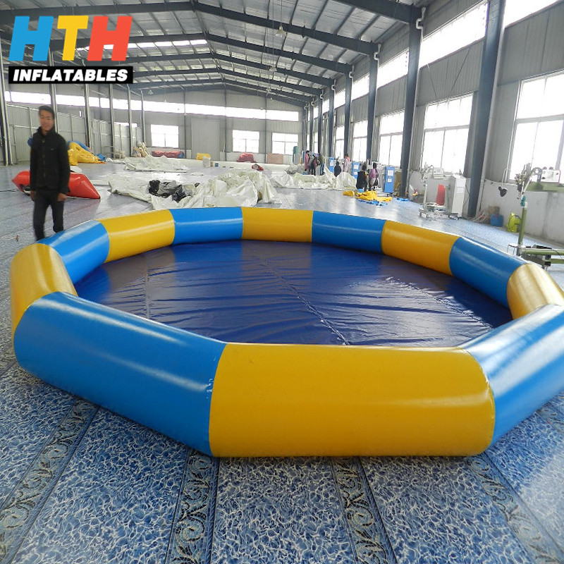 High quality colorful inflatable swimming pool