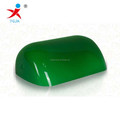 painted green bank lamp covering/glass lampshade for wholesale