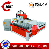 Jinan JCUT 4*8' multi spindle cnc wood carving machine cnc milling machine for sale