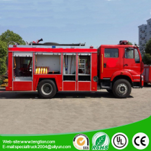 2017 new Sinotruk HOWO brand 8CBM foam fire engine & fire truck for sales