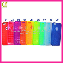 Solid soft mobile phone tpu case for iphone 5,back case cove for iphone5