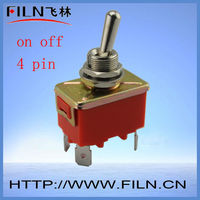 on off 4 pin joystick toggle switch