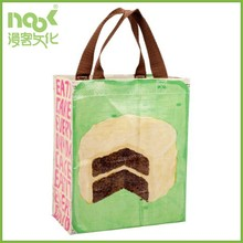 Customized Promotional eco friendly laminated pp woven shopping bag